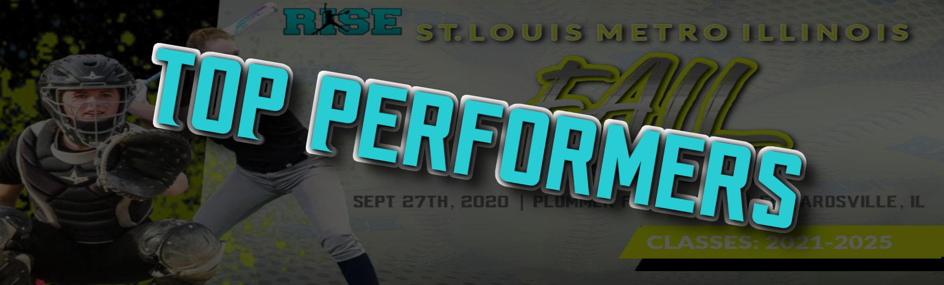 """St. Louis Metro Illinois Fall Showcase """"TOP PERFORMERS"""""""
