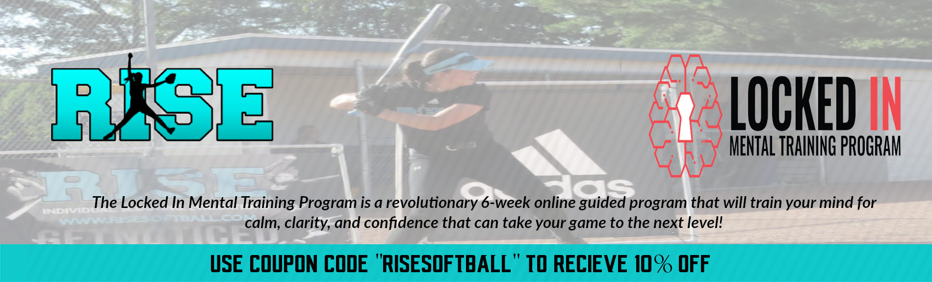 RISE Softball partners with Locked In Mental Training Program